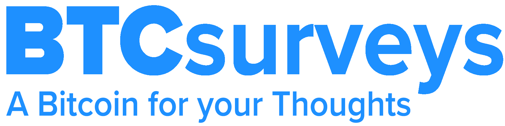 BTCsurveys bitcoin surveys logo